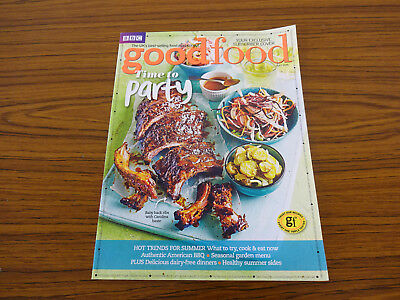 BBC Good Food: July 2015: Time to Party, Hot Trends For Summer
