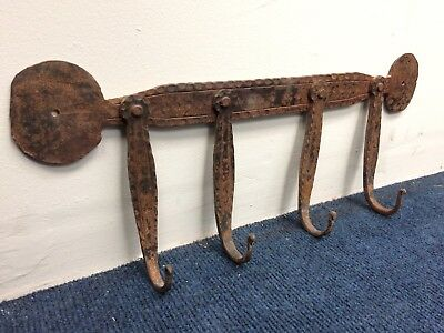 Old Blacksmiths Handcrafted Metal Hanger - 6 Available