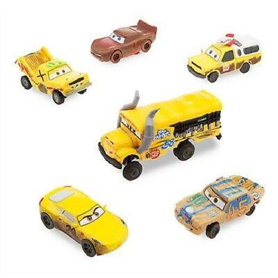 Official Disney Store Cars 3 Crazy 8s Toy Car Vehicle Figure Figurine Set of 6