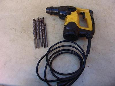 DeWALT D25313 HAMMER DRILL WITH MANY BITS WORKS FINE   #3