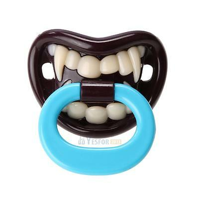 Halloween Silicone Funny Baby Pacifier Dummy Nipple Teethers Toddler Pacy Orthod