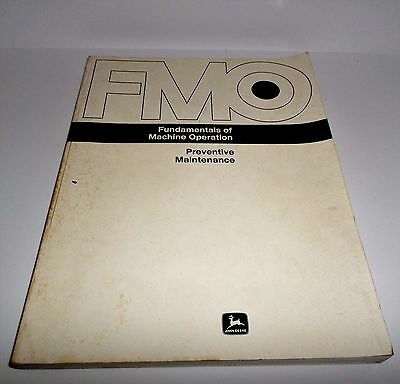 John Deere FMO fundamentals of machine operation FMO-161B original John Deere