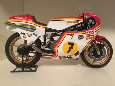 Barry Sheen IXO Altaya 1/12 scale 1997 Suzuki 500 World Champion