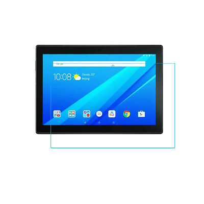 """2x Clear Tempered Glass Screen Protector for Lenovo Tab 4 10 Inch 10"""" tablet"""