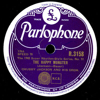 CHUBBY JACKSON & HIS ORCHESTRA  The happy monster / Follow  -Modern Jazz-  X1746