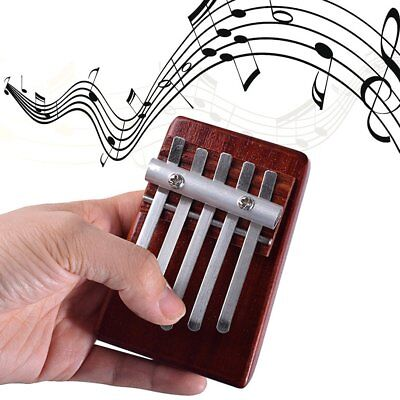 5 Keys Finger Thumb Piano Rosewood Instrument African Musical Instruments SY