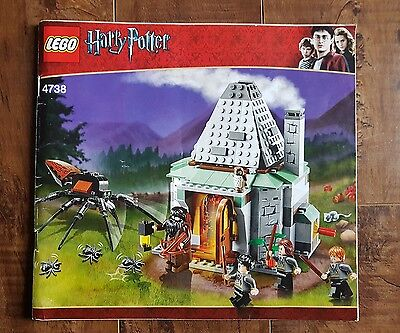Harry Potter LEGO - 4738 Hagrid's Hut (3rd edition) Instruction Manual Only