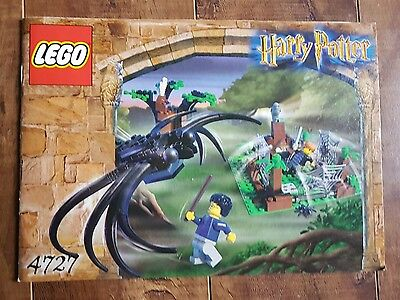 Harry Potter LEGO - 4727 Aragog In The Dark Forest Instruction Manual Only