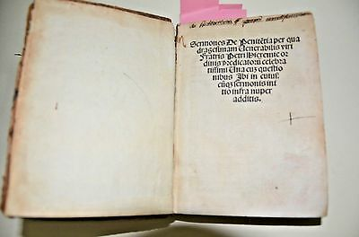 1512 post incunabula Lyons Extremely rare 5 works in one complete volume antique