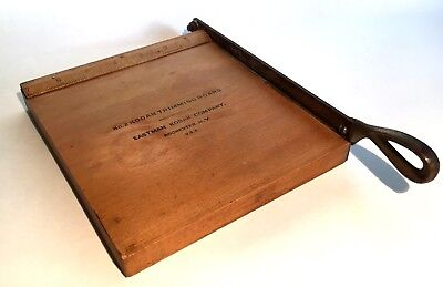 """Vintage / Antique Kodak Photo Trimming Board 7"""" x 8"""" Photography Collectible"""