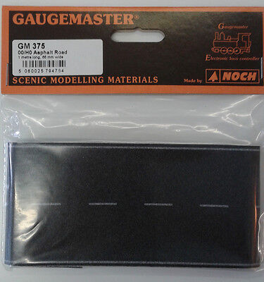 OO/HO 68mm larghezza autoadesivo Tarmac Road (1M) – GAUGEMASTER gm375 –