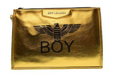 Boy London pochette donna ecopelle con stampa BLA-17 ORO A17