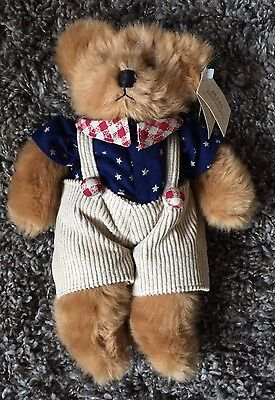 Russ Franklin Berrie Bears Bear From The Past Teddy Bear With Tags