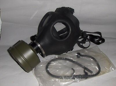 Israeli Gas Mask w/ 40mm Military Sealed NATO Filter Full NBC Protection - New!