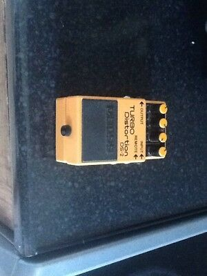 Boss Turbo Distortion Ds-2 Guitar Effect Pedal.