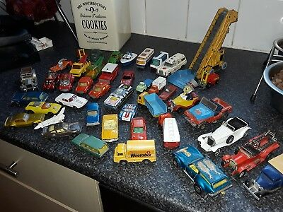large bundle of vintage cars some in excellent condition