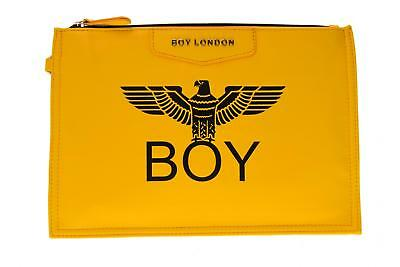 Boy London pochette donna ecopelle con stampa BLA-17 GIALLO A17