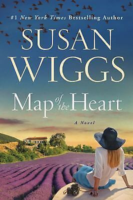 Map of the Heart by Susan Wiggs (2017, Hardcover)