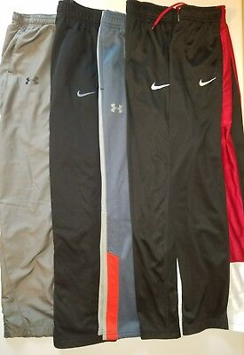 Youth Boys Dri Therma Fit Nike Under Armour Storm athletic pants LOT XL X-Large