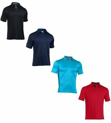 Under Armour Men's UA HeatGear Loose Fit Short Sleeve Armour Golf Polo - NWT