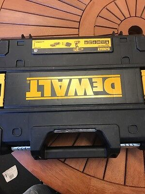 DeWalt TStak Carry Case Tool Box to Fit DCD776s2t Combi Drill  2 Batts + Charger