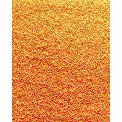Orange Sugar Strands Cupcake Decoration Sprinkles cake 30g Halloween