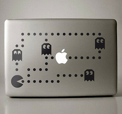 Sticker Macbook Pacman Version Zur Auswahl Neu