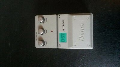 Ibanez DS7 DISTORTION Guitar Effect Pedal