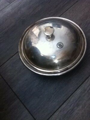 HUTTON SHEFFIELD Silver Plated Serving Dish with Lid
