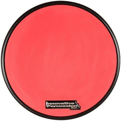 """Innovative Percussion RP-1R Red Gum Rubber Practice Pad with Black Rim 11-1/2"""""""