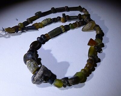 Ancient Mixed Bead Necklace Circa 2Nd Century Ad - No Reserve 01
