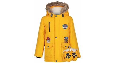 Boys George Paw Patrol Coat With Gloves..worn Twice..age 12-18Mths..very Good Co