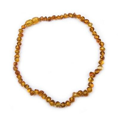 100% Genuine Baltic Amber Teething Necklace Honey UK Seller Free Postage