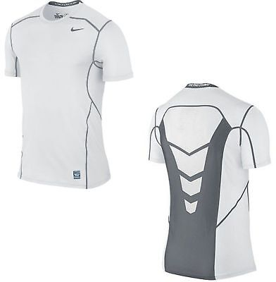 Nike Pro Combat Hypercool Fitted Training Dri-fit Shirt 636155 White or Black