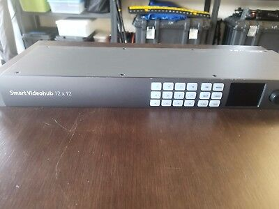 Blackmagic Design Smart Videohub CleanSwitch 12x12 | 6G-SDI Video Router