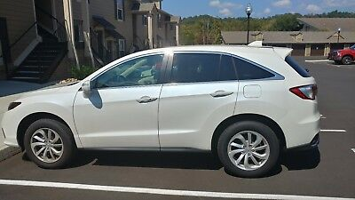 2017 Acura RDX Technology 2017 White Acura RDX Technology Package
