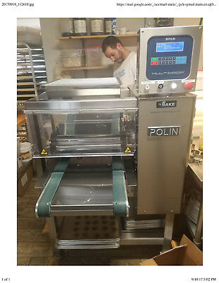 2015 POLIN MULTIDROP PRO-FAST COOKIE DEPOSITOR + 2 extra HEAD - No reserve