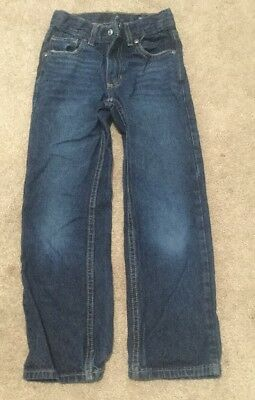 Boys Size 7 Sonoma Relaxed Blue Jeans With Adjustable Waist