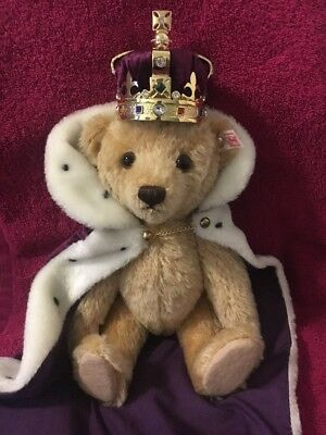 Steiff Queen Elizabeth II Coronation Teddy Bear
