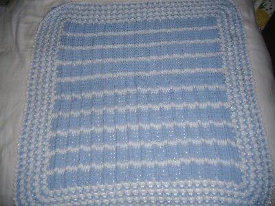 Handcraft Baby Blanket * Baby Boys * Nicely Hand Crafted * Look !!