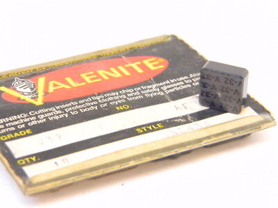 New Surplus 8Pcs. Valenite  Sng 434  Grade: V32 Ceramic Inserts