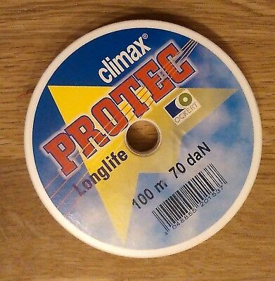 Climax Protec 70daN 100m auf Rolle - Die Longlife-Leine
