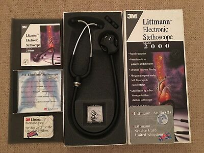 Littmann Electronic Stethoscope - Brand New in Box, Never used. See details.