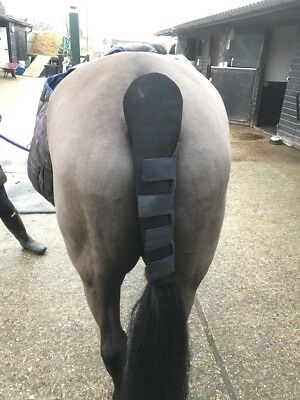 Neoprene Tail Guard Travelling Protection for Horse Pony Tail Bandage Wrap