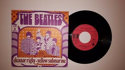 45 T French  press SP BEATLES  :Eleanor Rigby + 1
