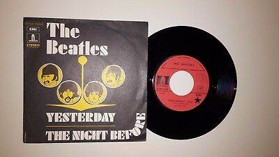 45 T French  press SP BEATLES  :Yesterday + 1