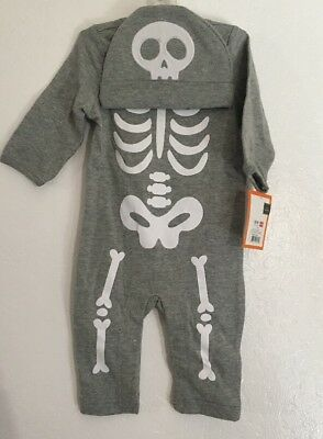 Infant Baby Skeleton Jumpsuit with Hat Set (3-6 months) NEW With Tags