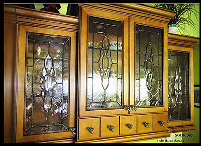 Spectacular Kitchen Cabinet Glass Inserts with bevel cluster for new or existing