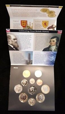 2009 Royal Mint-United Kingdom Brilliant Uncirculated Coin Collection