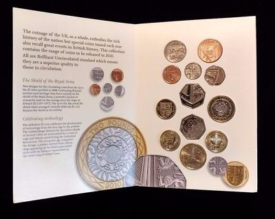 2010 Royal Mint-United Kingdom Brilliant Uncirculated Coin Collection